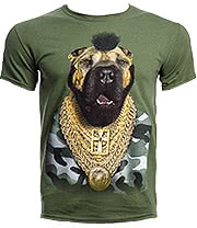 Pets Rock Fool T Shirt (Green)