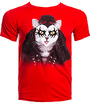 Pets Rock Hard Rock T Shirt (Red)