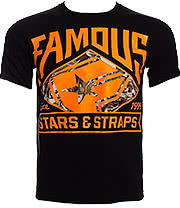 Famous Stars & Straps Deer Hunter T Shirt (Black)