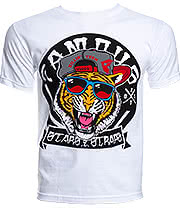 Famous Stars & Straps Fly Tigers T Shirt (White)
