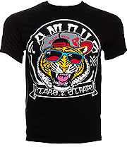 Famous Stars & Straps Fly Tigers T Shirt (Black)
