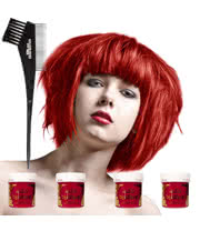 La Riche Directions Hair Dye 4 Pack (Pillarbox Red)