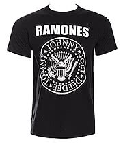 Ramones Seal T Shirt (Black)