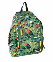 Eastpak Tent Town Padded Packer Backpack (Green)