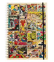 Marvel Comics Comic Strip A4 Notebook
