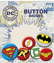 DC Comics Button Badges