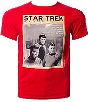 Star Trek Final Frontier T Shirt (Red)
