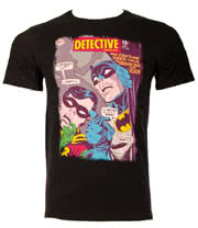 DC Comics The Old Detective Batman T Shirt (Black)