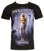 Megadeth Countdown 2 T Shirt (Black)