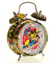 "Marvel Comics 4"" Wolverine Alarm Clock"