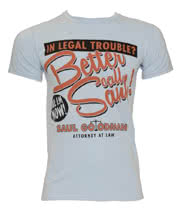 Breaking Bad Better Call Saul T Shirt (Blue)