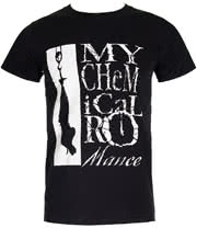 My Chemical Romance Hangman T Shirt (Black)