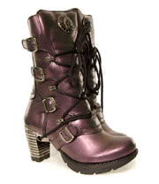 New Rock Boots Style TR003 (Purple)