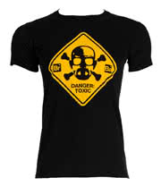 Breaking Bad Hazardous T Shirt (Black)