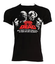 Dawn Of The Dead Head Shots T Shirt (Black)