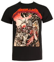 Metallica Four Horsemen T Shirt (Black)