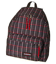 Eastpak Recheck Padded Pack'r Backpack (Black)