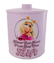 The Muppets Miss Piggy Biscuit Barrel (Pink)