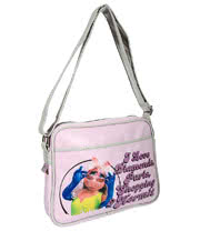The Muppets Miss Piggy Bag (Pink)