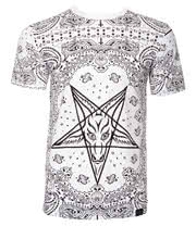 Kill Star Bandana T Shirt (White)