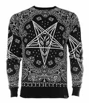 Kill Star Bandana Sweatshirt (Black)