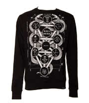 Kill Star Kabbalah Sweatshirt (Black)