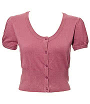 Banned Short Sleeved Cardigan (Pink)