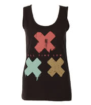 All Time Low 3 Strikes Vest Top (Black)
