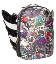 Urban Junk Flyhigh Junky Backpack (Black/White)