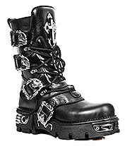 New Rock Boots Style M1032-S1 (Black)