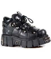 New Rock Shoes Style M106-S1 (Black)