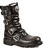 New Rock Boots Style M1473-S1 (Black)