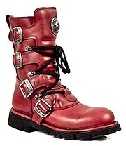 New Rock Boots Style M1473-S12 (Red)