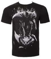 DC Comics Batman Gargouille T Shirt (Black)