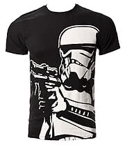 Star Wars Big Stormtrooper T Shirt (Black)