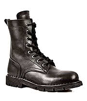New Rock Boots Military Style M.1423-S1 (Black)