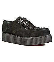 New Rock Boots Suede Creepers M.2415-C3 (Black)