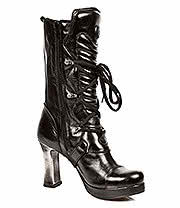 New Rock Boots Heeled Ankle Boots M.5815-S10 (Black)