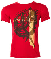 The Hunger Games Mocking Jay T Shirt (Maroon)