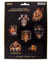 The Hunger Games Set Of 8 Magnets (Multi-Coloured)