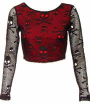 Jawbreaker Poison Top (Red/Black)