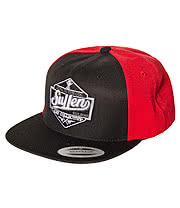 Sullen Loyal To The Coil Snapback Hat (Red/Black)