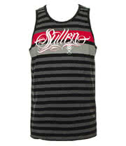 Sullen System Tank Top (Black/Grey/Red)