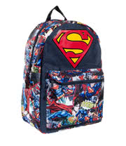 DC Comics Superman Big Logo Backpack (Multi-Coloured)