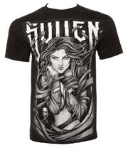 Sullen Wrapped T Shirt (Black)