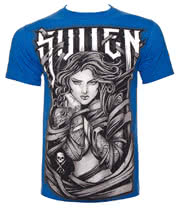 Sullen Wrapped T Shirt (Blue)