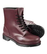 Blue Banana Jelly Boots (Burgundy)