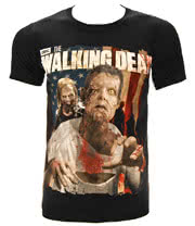 The Walking Dead Zombie T Shirt (Black)