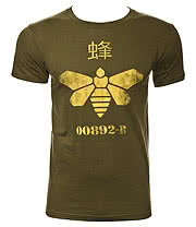 Breaking Bad Barrel Bee T Shirt (Green)