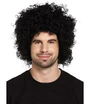 Blue Banana Afro Wig (Black)